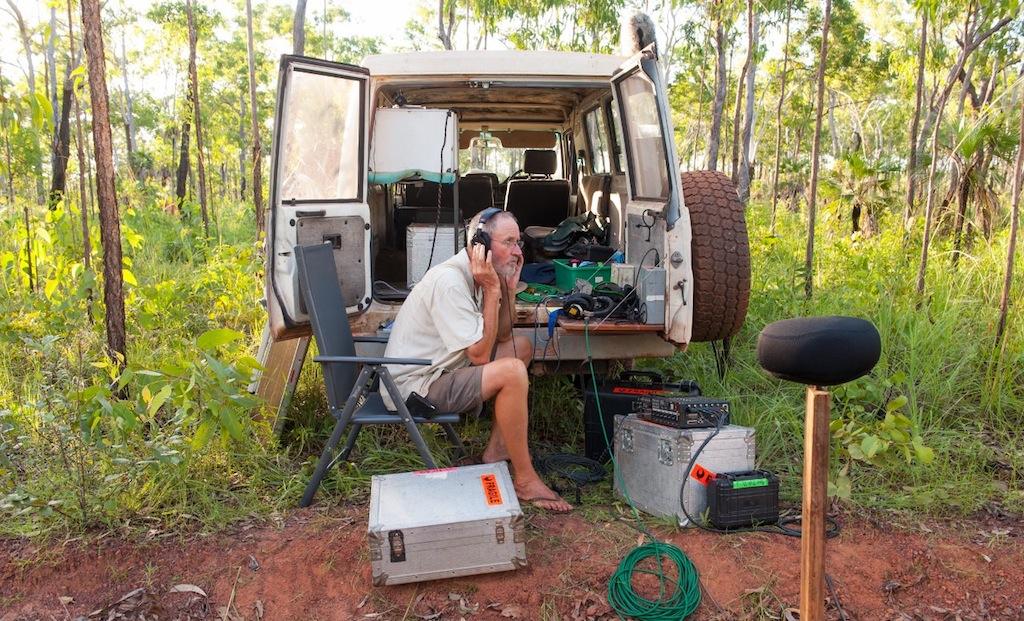 Rolf de Heer und das DPA 5100 Mobile Surround Microphone