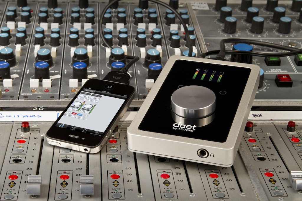 Apogee Duet with iPhone