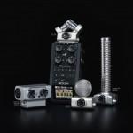 Zoom Pocketrekorder H6: Zoom präsentiert weltweit ersten Pocketrekorder mit Wechselkapsel-System auf der IFA 2013