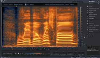iZotope RX3 Screenshot
