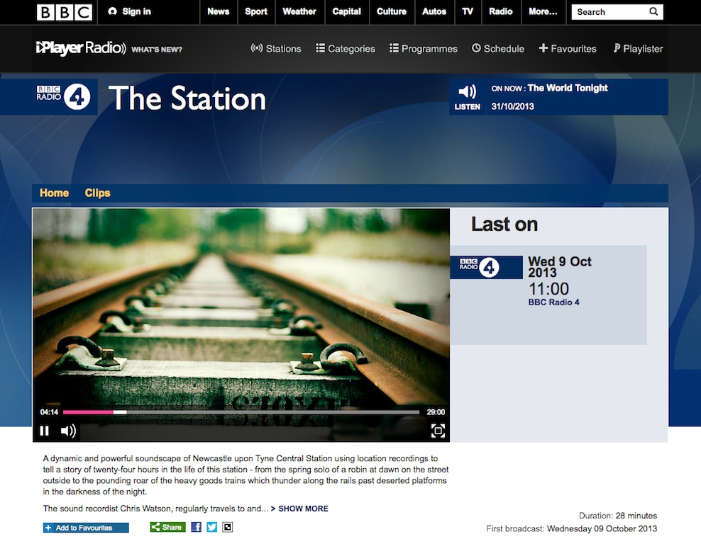 BBC 4 Radio - The Station