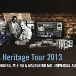 Universal Audio geht auf UA Heritage Tour 2013