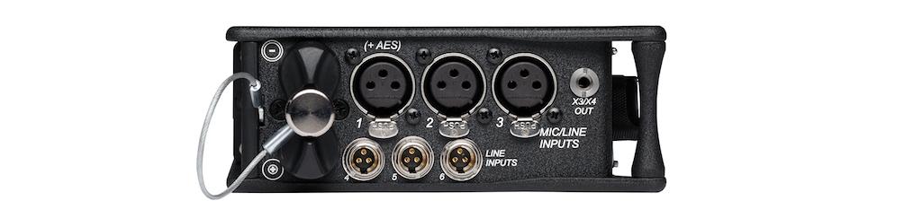 Sound Devices 633 Eingänge