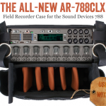 Portabrace AR-788CLX: Neues Field Recorder Case für Sound Devices 788