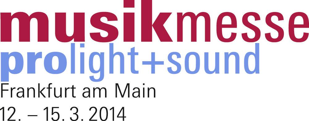 Musikmesse und Prolight + Sound vom 12.-15. März 2014