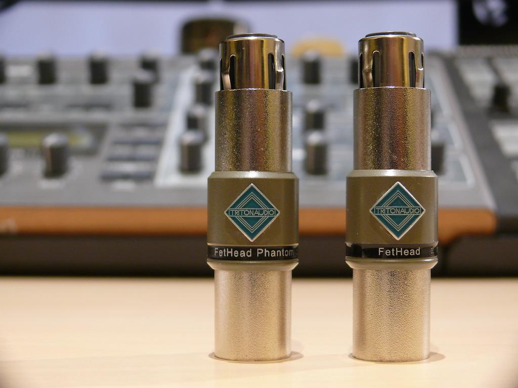 Triton Audio FetHead & FetHead Phantom In-Line Preamp