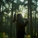 Mit Klangforscher Yosi Horikawa in der Natur