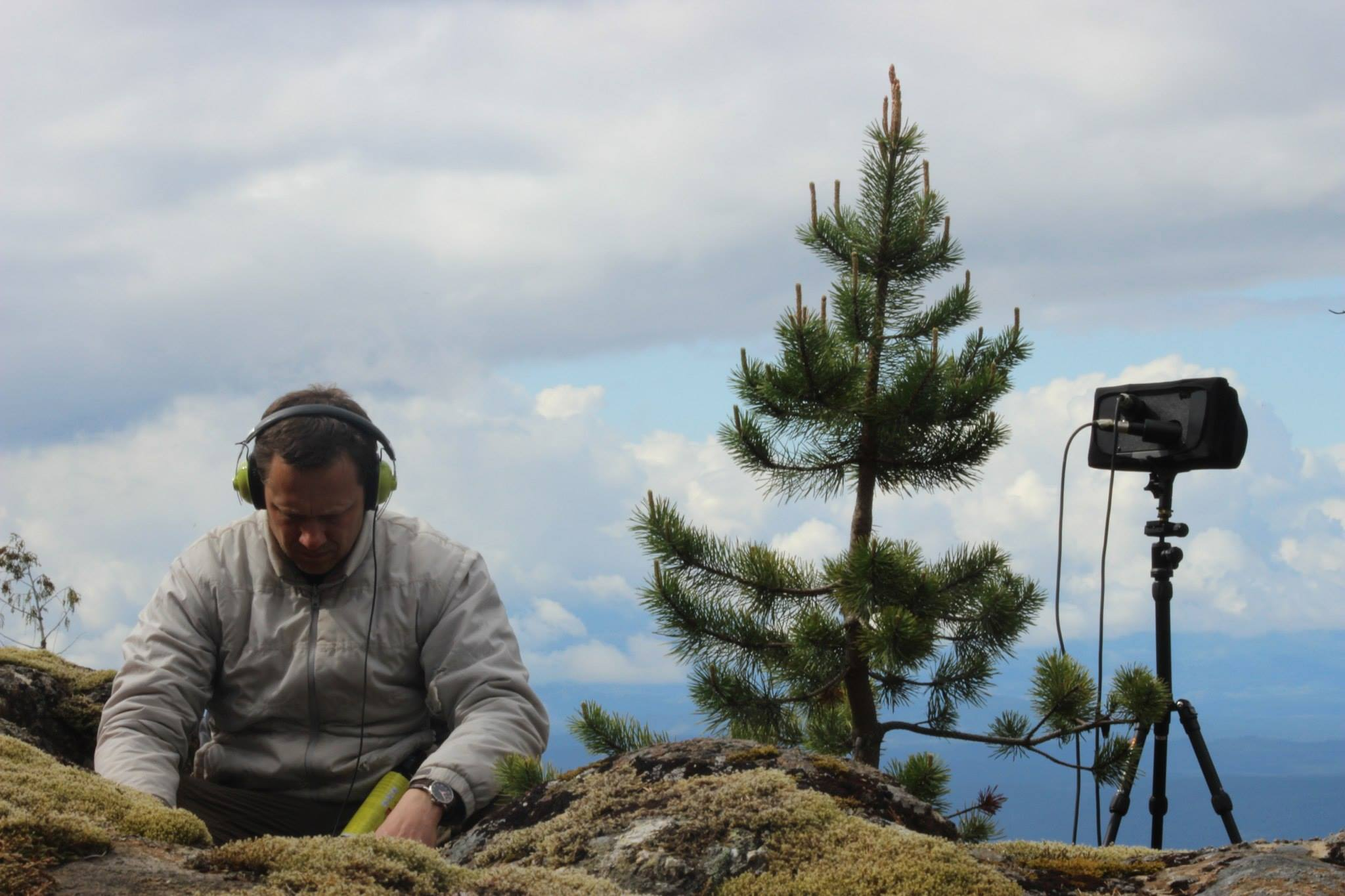 Mark Brennan - Field Recording auf Quadra Island