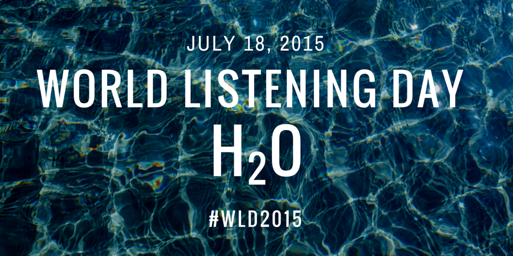 World Listening Day 2015: H2O Logo