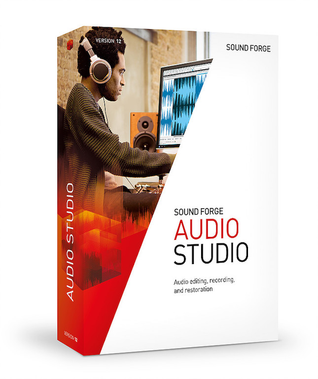 SOUND FORGE AUDIO STUDIO 12 Boxshot