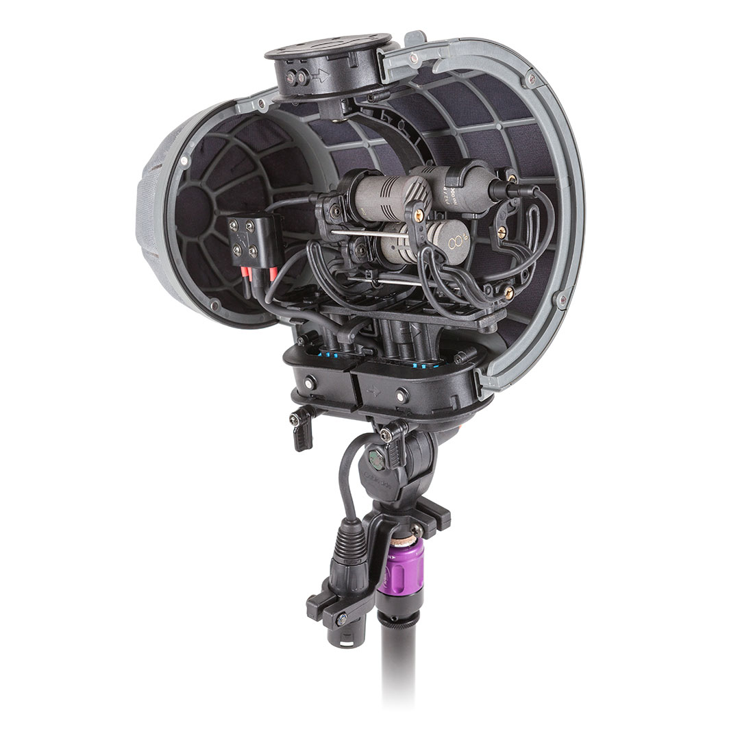 SCHOEPS Doppel-MS Set mit 3 CCM-Mikrofonen und Windkorb Rycote Cyclone Stereo