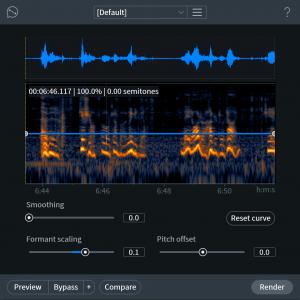 iZotope RX 7 Music Rebalance
