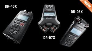 Tascam DR-X Series