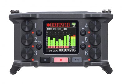 Zoom enthüllt den neuen F6 MultiTrack Field Recorder