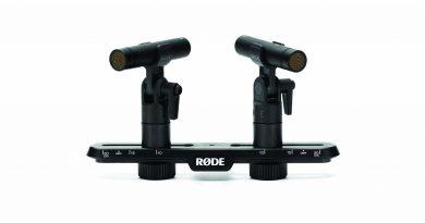 RØDE TF-5 mit Stereoschiene SB20