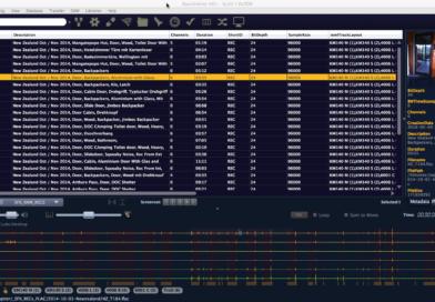 Tonaufnahmen verwalten mit Soundminer